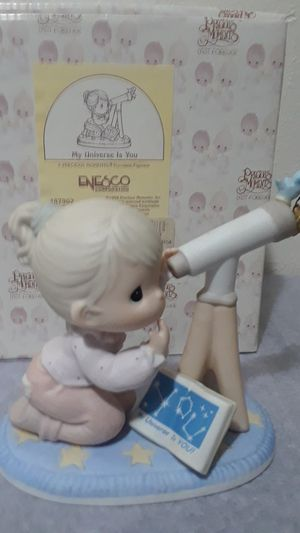 "Precious Moments "" My Universe is you "" figurine for Sale in Tampa, FL"