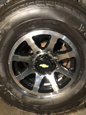 "2500 HD wheels and tires 16"" Silverado Sierra LT 285 tires Chevy GMC Dodge 8 lug rims for Sale in Fort Lauderdale, FL"