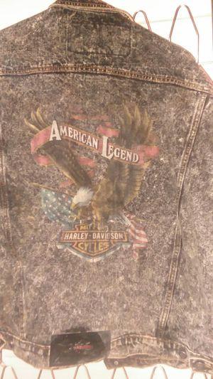 Harley davidson jean jacket for Sale in Moneta, VA
