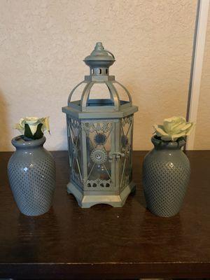 Pier 1 Lantern set for Sale in Saint Hedwig, TX