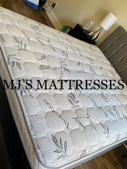 BAMBOO PILLOW TOP MATTRESS 💥 BEST PRICES 💯 WE DELIVER SAME DAY ⭐️ for Sale in Los Angeles,  CA