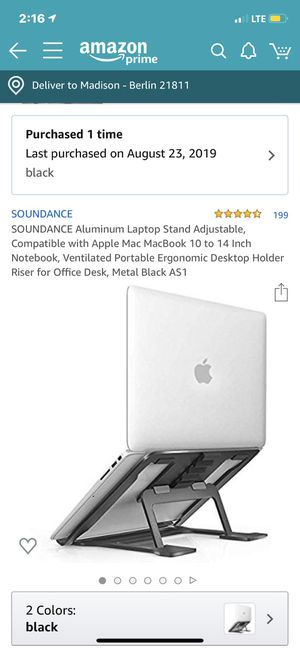 Laptop stand for Sale in Berlin, MD