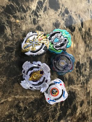 5 Good condition beyblades for Sale in Riverdale Park, MD