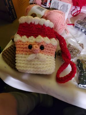 Santa treat or gift card bag for Sale in North Chesterfield, VA