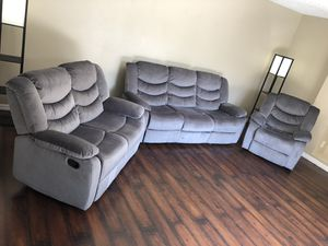 3 Piece Couch Living Room Set for Sale in North Palm Beach, FL