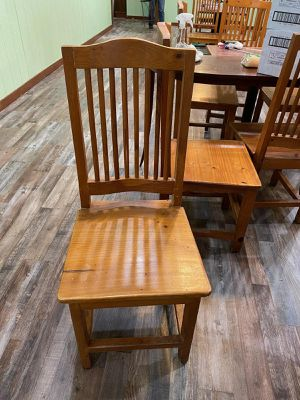 Wooden chairs for sale for Sale in Arlington, TX