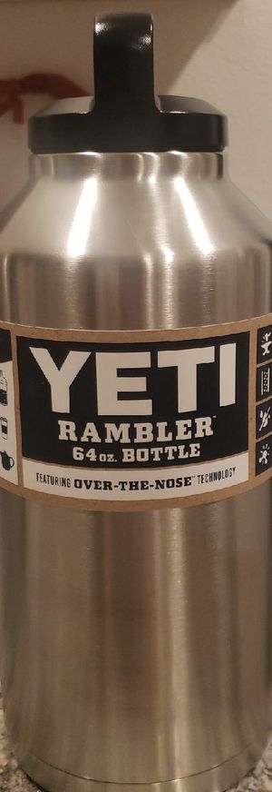 Yeti 64 oz stainless steel New never used for Sale in Riverside, CA