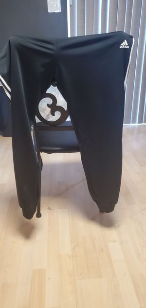 Adidas mens track pant xl for Sale in Frederick, MD