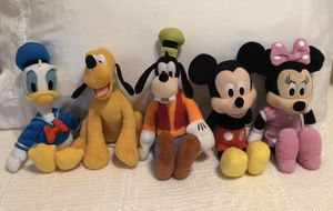 Large Lot Disney Characters Plush Toys for Sale in Davie, FL