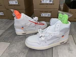 Jordan 1 Retro High Off-White All White Size: 11 for Sale in Phoenix, AZ