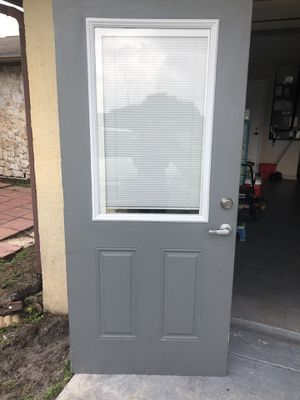 Window blind door for Sale in Port St. Lucie, FL