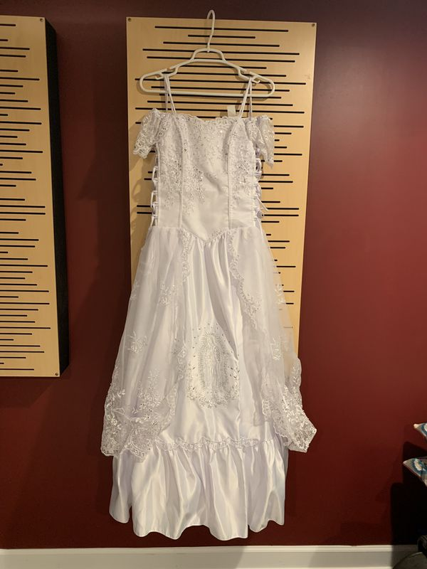 Baptism or first communion dress
