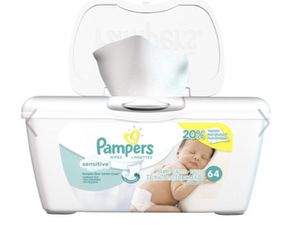Pampers wipes 64 count for Sale in Fort Lauderdale, FL