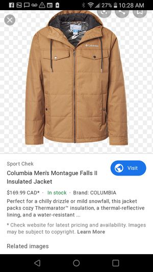 Columbia sport wear jacket for Sale in Albuquerque, NM