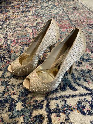 Jennifer Lopez Sparkle heels 6.5 for Sale in Winter Haven, FL