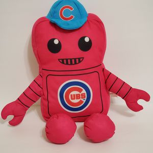 "Rally Men Chicago Cubs Robot Plush 13"" for Sale in Brookfield, IL"