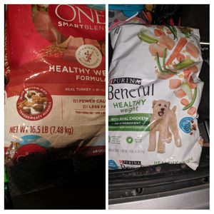 *brand new* 2 bags of Purina / Purina One healthy weight formula dog food for Sale in Lakewood, WA