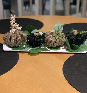 Mini pumpkin set for Sale in Scottsdale, AZ