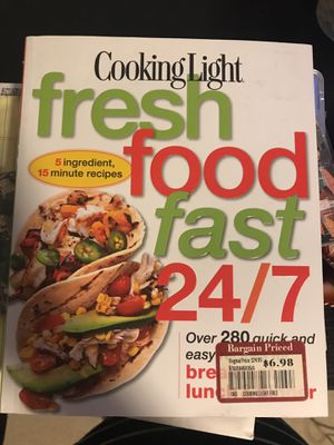 Cooking book. Fast healthy dinners. Free till December 24 for Sale in Chicago, IL