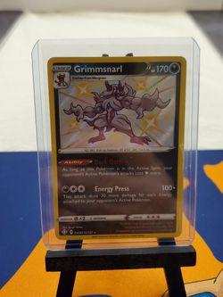 Grimmsnarl Pokemon Shining Fates Shiny Vault for Sale in Everett,  WA
