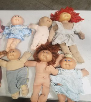 6 cabbage patch dolls. 85 an 86. Xavier $85 for all for Sale in Murrieta, CA