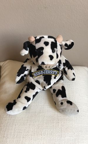 Ben & Jerrys Original Precious Cow Beanie Toys for Sale in New York, NY