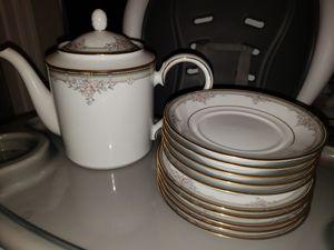 Tea pot & plates for Sale in North Springfield, VA