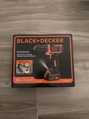 Black and Decker Power Drill w Battery (NEW) for Sale in Miami, FL