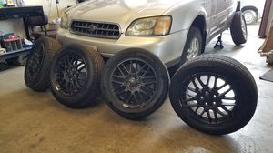 Subaru Legacy GT Wheels w/ new tires! 5x100 for Sale in Chico, CA