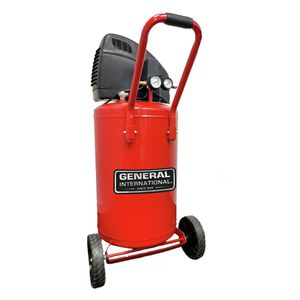General International 20 Gallon 1.5HP Oil-Free Air Compressor, AC1220 for Sale in Houston, TX