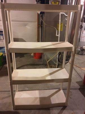 Four-Shelf Plastic Unit for Sale in Fountain, CO