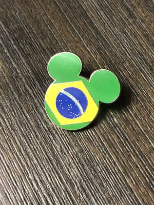 Disney Brazil Flag Pin for Sale in Los Angeles, CA