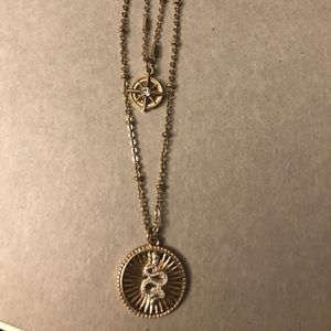 Snake and Compass Necklace for Sale in Upland, CA