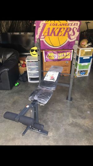 Get it Today!! Low Price!! Brand New Golds Gym xr6.1 Exercise Muscle Workout Strength Weight Bench Press Fitness Equipment Retail Price: $109+ for Sale in Huntington Park, CA