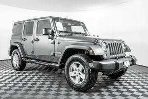 2018 Jeep Wrangler JK Unlimited for Sale in Lynnwood, WA