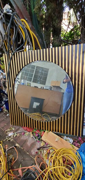 Mirror solid wood. VERY HEAVY for Sale in Shadow Hills, CA