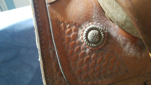Mexican horse saddle