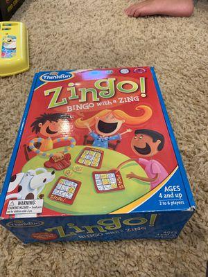 Zingo Bingo kids game for Sale in Los Alamitos, CA