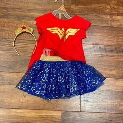 4 T Girl Wonderwomen Costume for Sale in Roselle,  IL