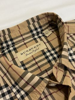 Burberry Men's Shirt small for Sale in Colton,  CA
