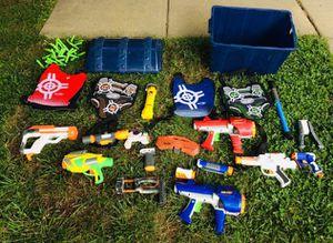 Nerf guns set for Sale in Sacramento, CA