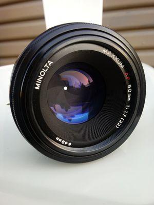 Minolta Maxxum AF50mm f1:1.7 for Minolta/SonyA-mount for Sale in Montclair, CA