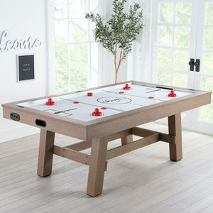 """Airzone Premium Air Hockey Table with High End Blower, 84"""", Wood Finish SHIPPING DAMAGE SIDE PART for Sale in Houston, TX"""
