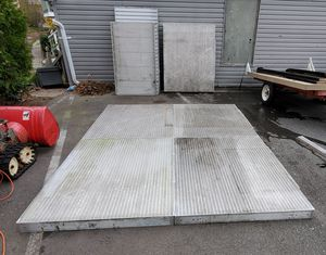 Boat dock? Aluminum panels. for Sale in Beverly, MA