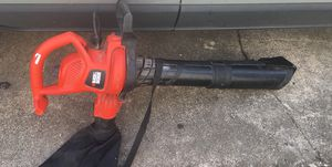 Black and decker leave blower for Sale in Washington, DC