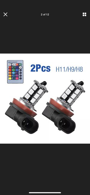 H11,H9,H8 multi color hid light for Sale in Casa Grande, AZ