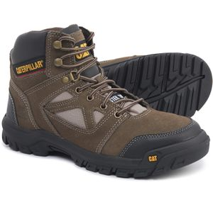 Men's Caterpillar Plan Work Boots Safety Steel Toe Leather for Sale in Hialeah, FL