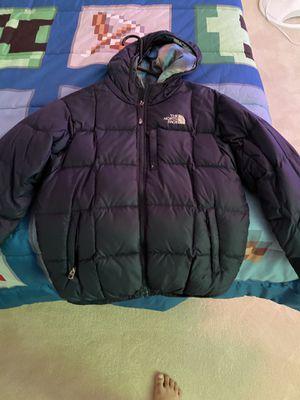 Boys North Face Reversible Wintet Jacket 10/12 for Sale in Charlottesville, VA