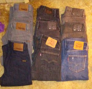 Name Brand Men's Jeans - LOT of 9 Pairs!!! for Sale in Vancouver, WA