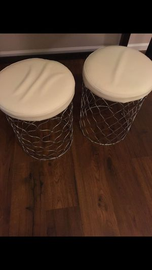 2 Small stools for Sale in Morrisville, NC